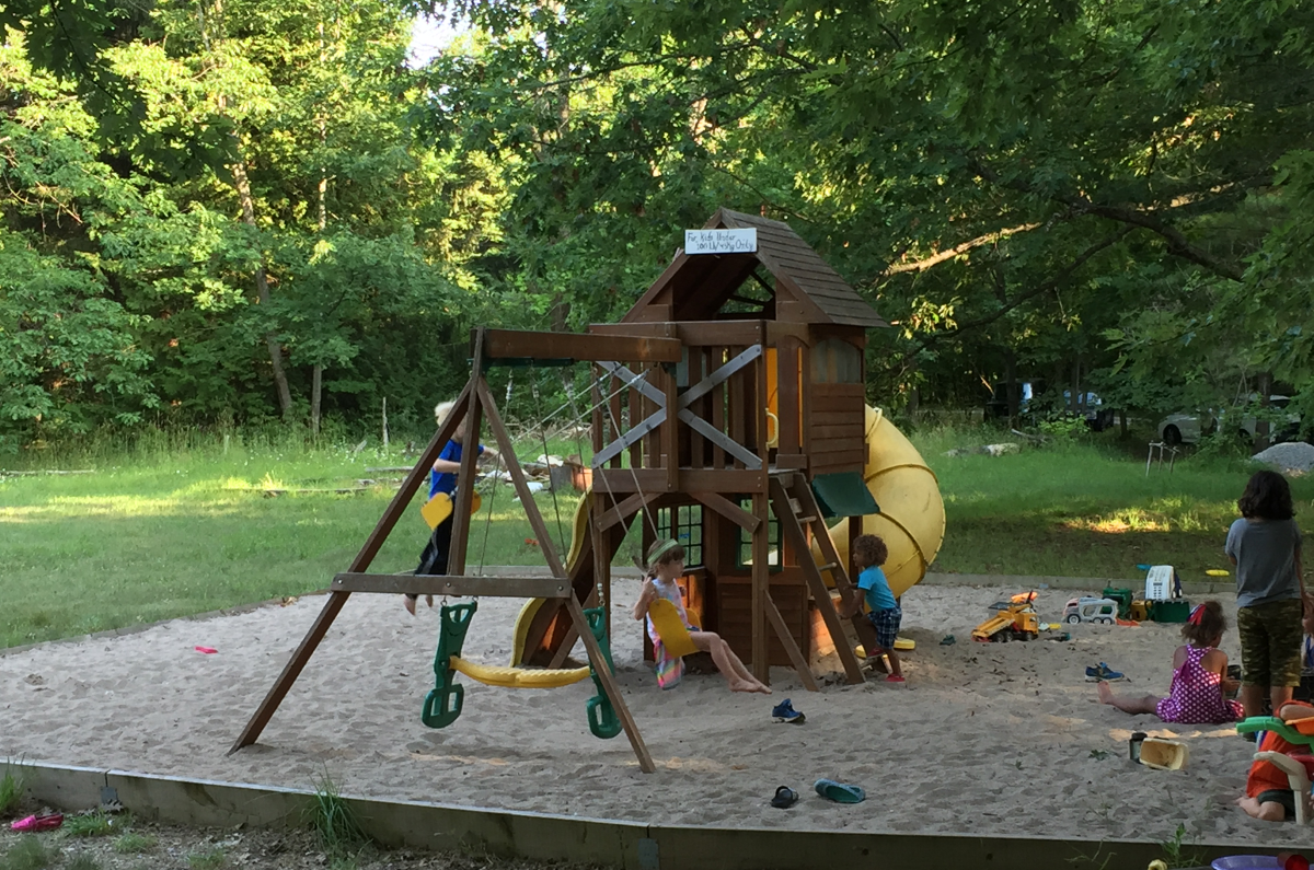 Children in the playground